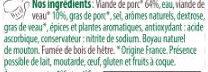 La viennoise - Ingredienti - fr