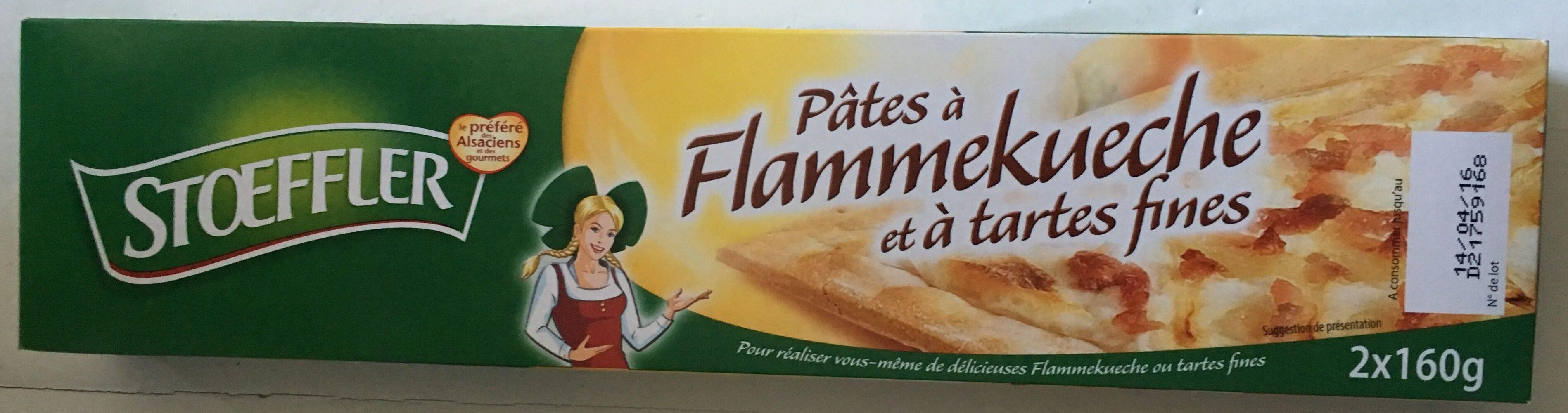 Pâtes à Flammekueche et à tartes fines - Produit - fr