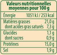 Saucisses de Francfort Bio Stoeffler - Informations nutritionnelles - fr