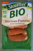 Saucisses fumées Bio - Informations nutritionnelles - fr