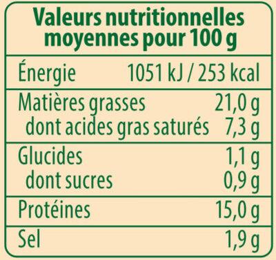 Saucisses de Francfort Bio, lot de 2, 2ème à 50% Stoeffler - Informations nutritionnelles - fr