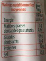 Stoeffler saucisse de francfort 2x6 - Nutrition facts - fr