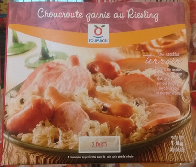Choucroute garnie au Riesling - Product - fr