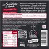 La saucisse de viande 400g - Product