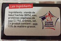 L'extra moelleux - Ingrédients - fr