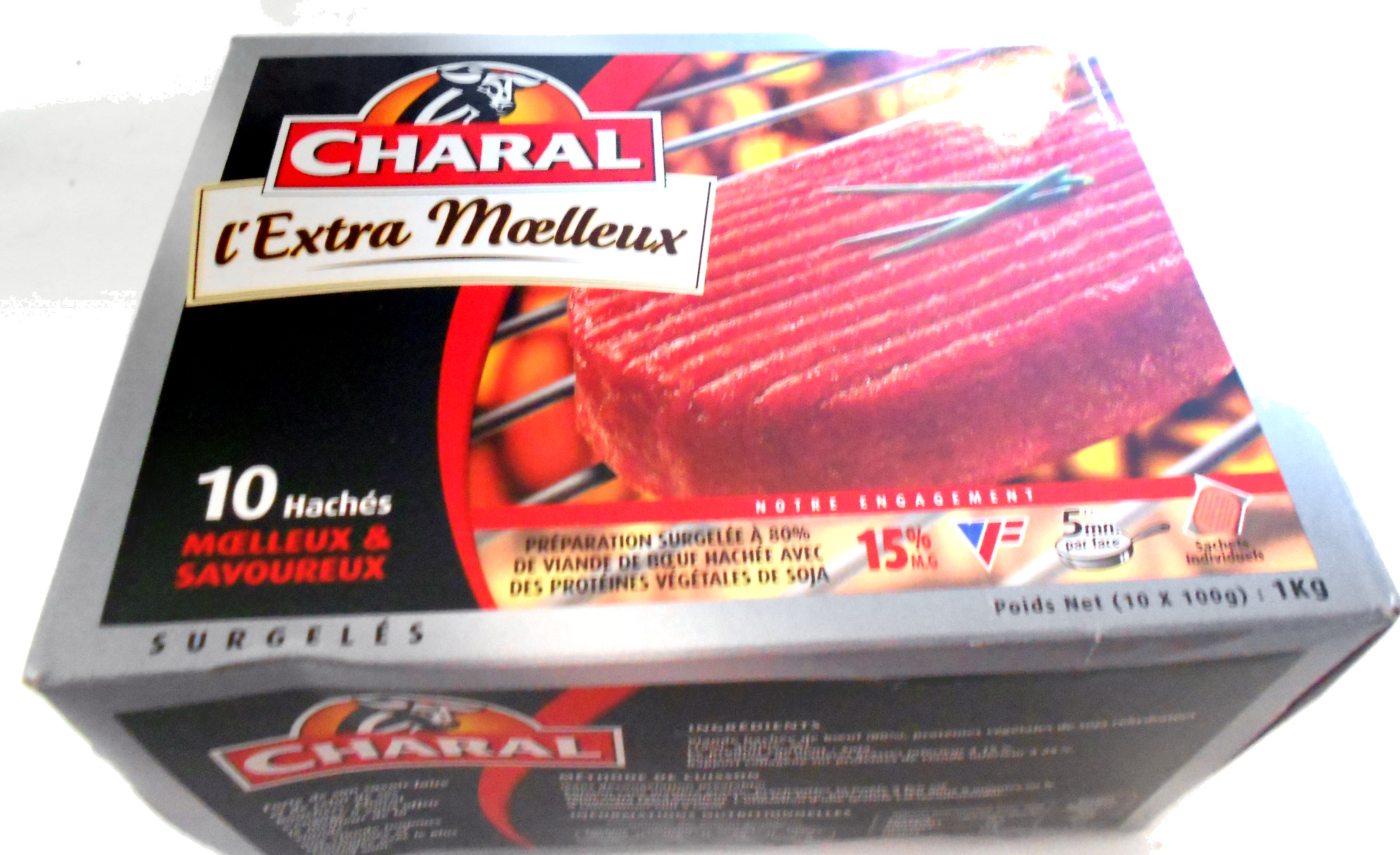 Charal l'extra moelleux - Produit - fr
