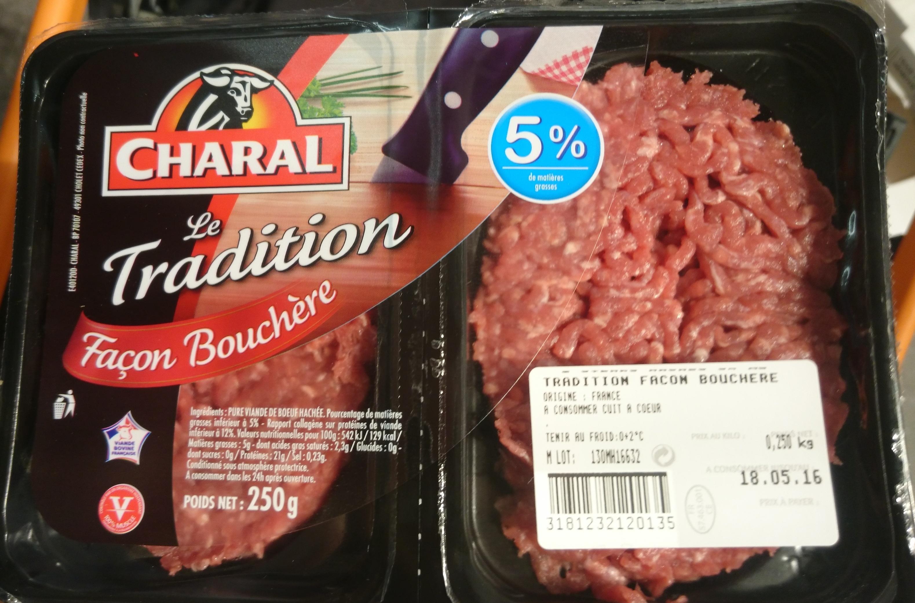Le Tradition Façon Bouchère - Produit