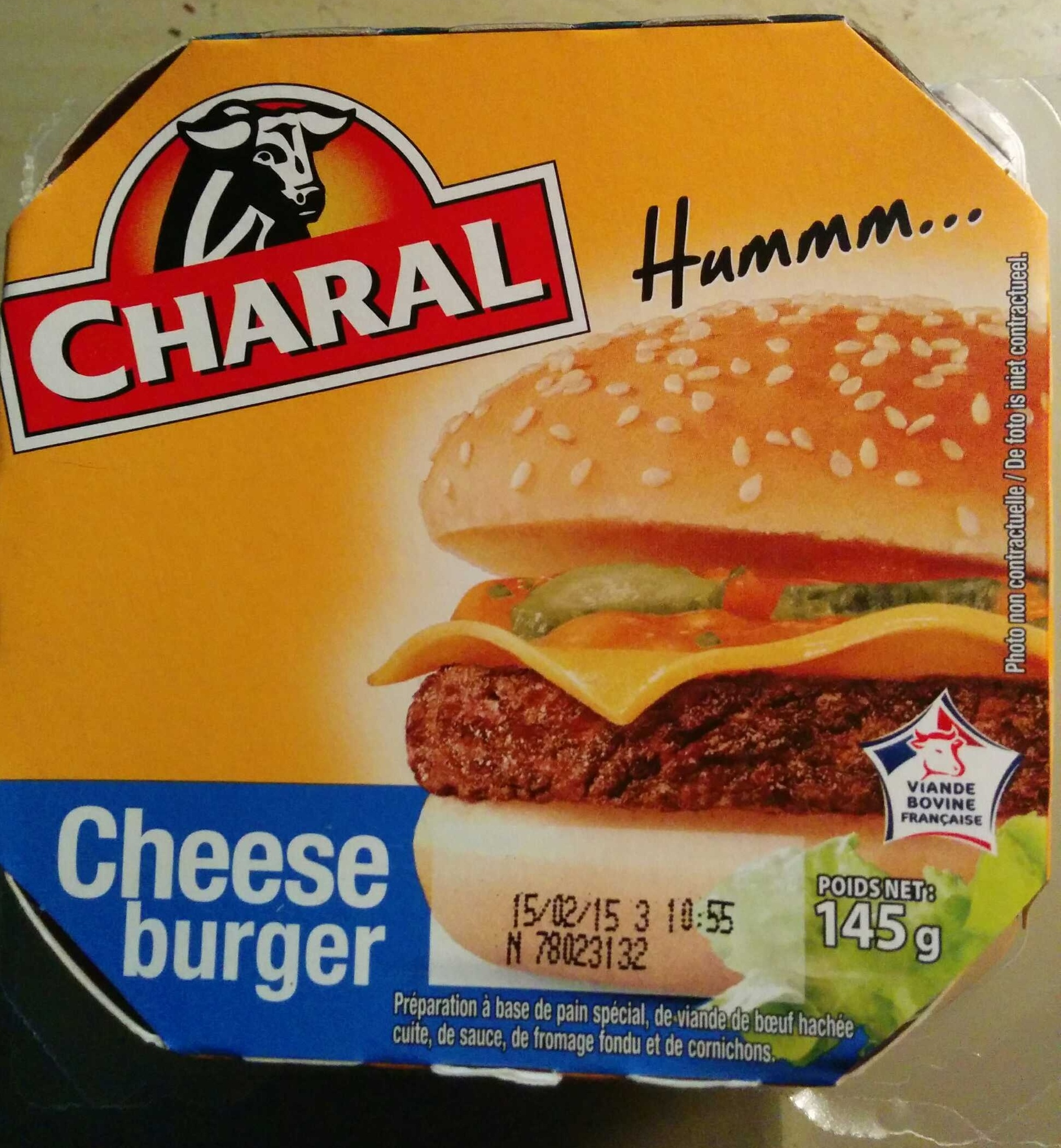 Cheese Burger - Product