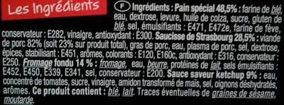 Hot dog ketchup - Ingrediënten