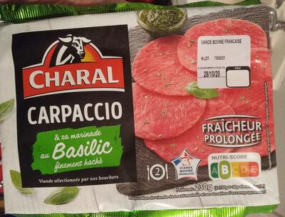 Carpaccio & sa marinade au Basilic - Product - fr