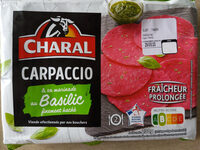 Carpaccio, Basilic finement haché & sa marinade - Продукт - fr