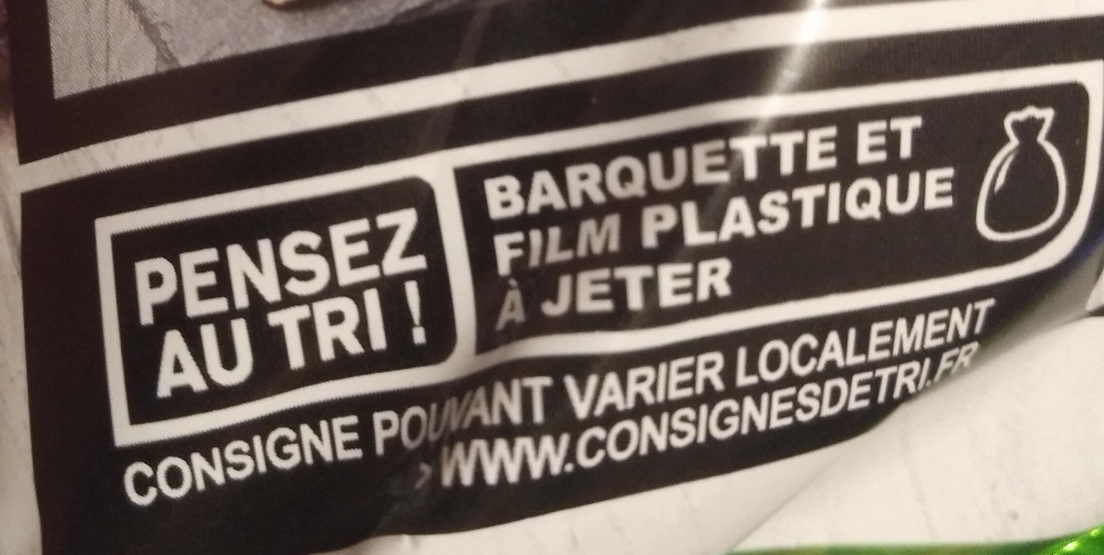 Carpaccio & sa marinade au Basilic - Recycling instructions and/or packaging information - fr
