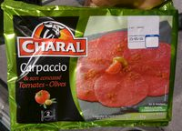 Carpaccio et son Concassé Tomates mi_séchées-Olives - Product