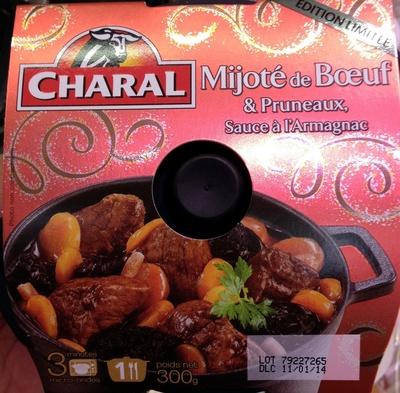Mijoté au boeuf & pruneaux sauce à l'Armagnac - Product