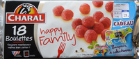 Boulettes Charal Happy Family - Product - fr