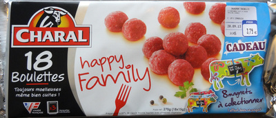 Boulettes Charal Happy Family - Product