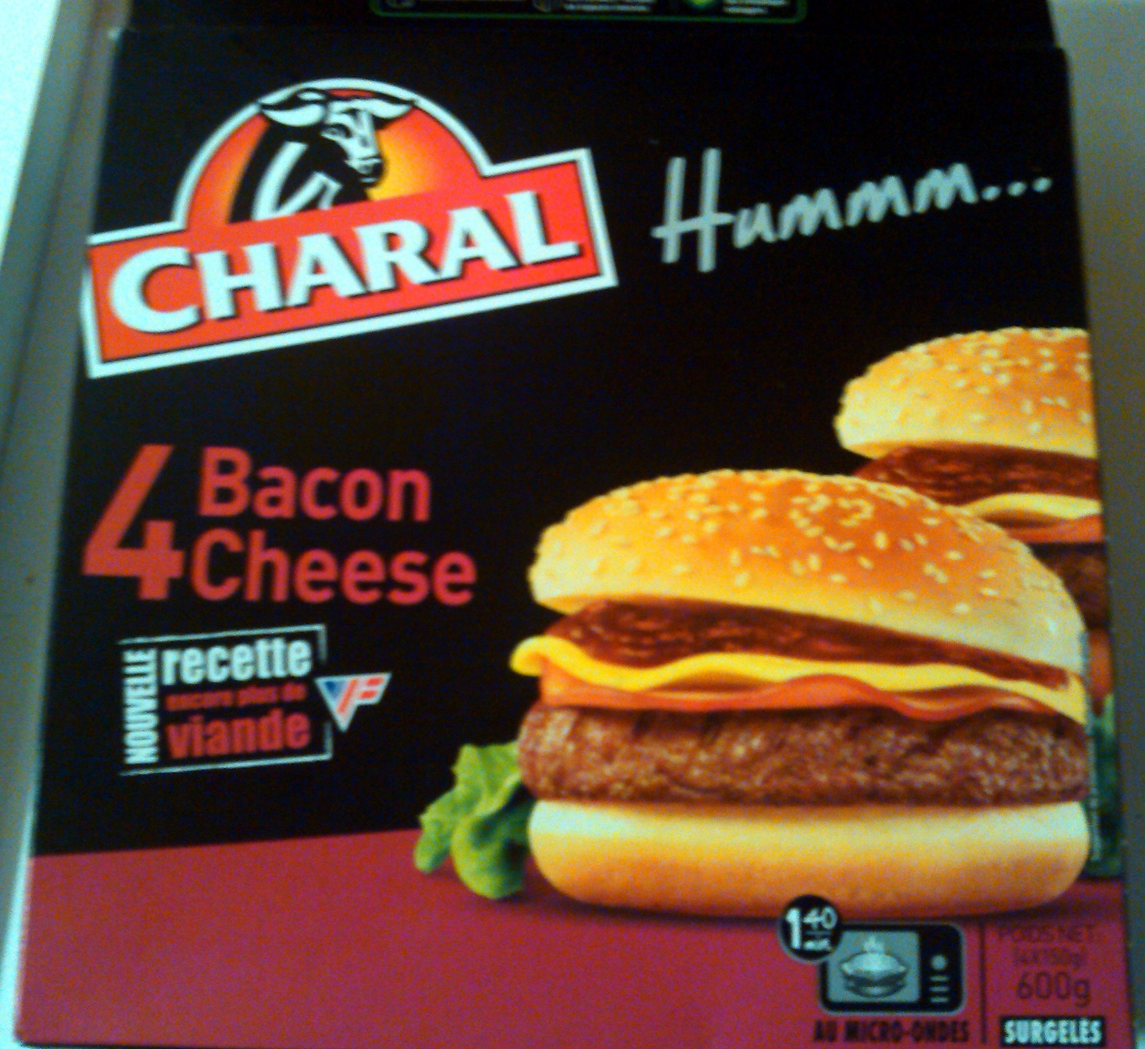 4 bacon cheese - CHARAL - 600g