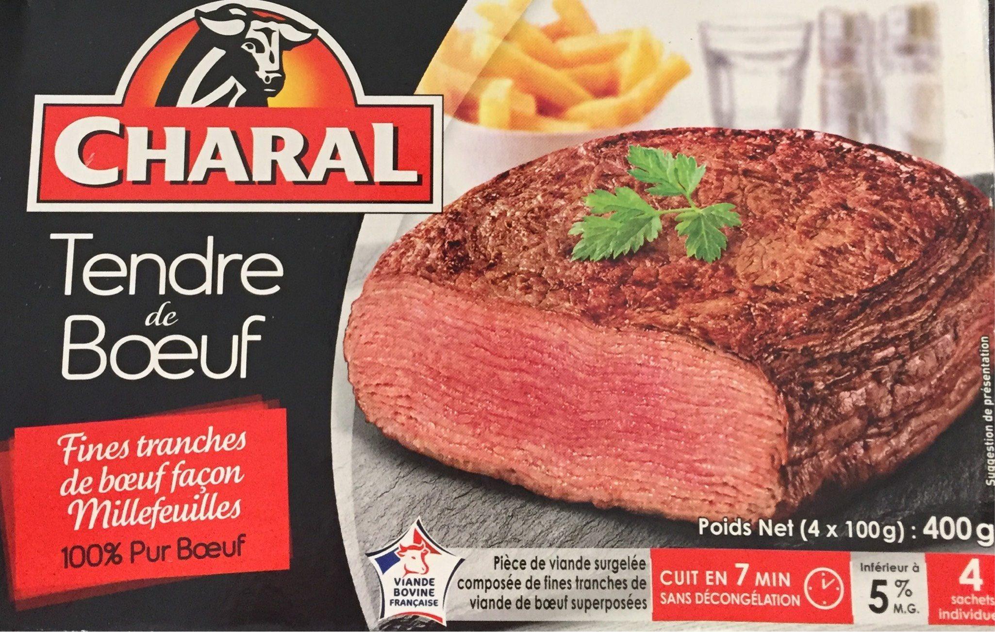 Tendre De Bœuf Charal