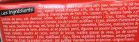 Bœuf Façon Bourguignon et Pâtes Fusili - Ingrédients