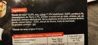 Blanquette de Veau - Ingrédients