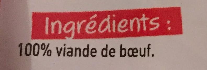 Tendre de Boeuf x2 - Ingrédients