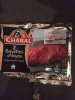 2 bavettes d'aloyau Charal - Product