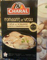 Fondant de Veau Crème de Normandie, Pleurotes et Champignons de Paris - Produit - fr