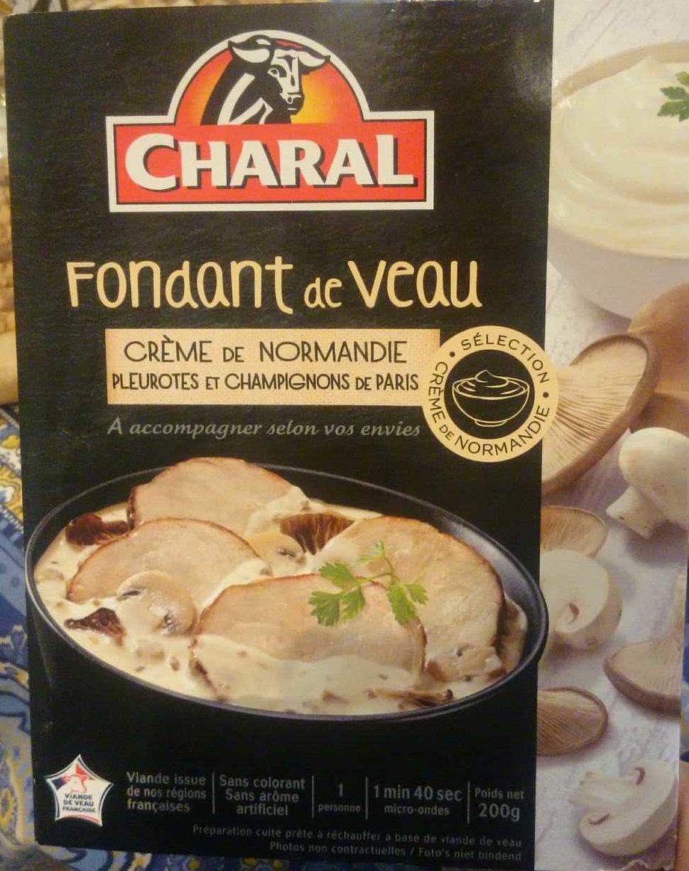 Fondant de Veau Crème de Normandie, Pleurotes et Champignons de Paris - Product - fr
