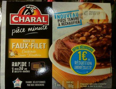 Noix de Faux-Filet Cuisinée Sauce Forestière - Produit - fr