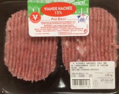 Viande hachée 15% Pur Boeuf - Product