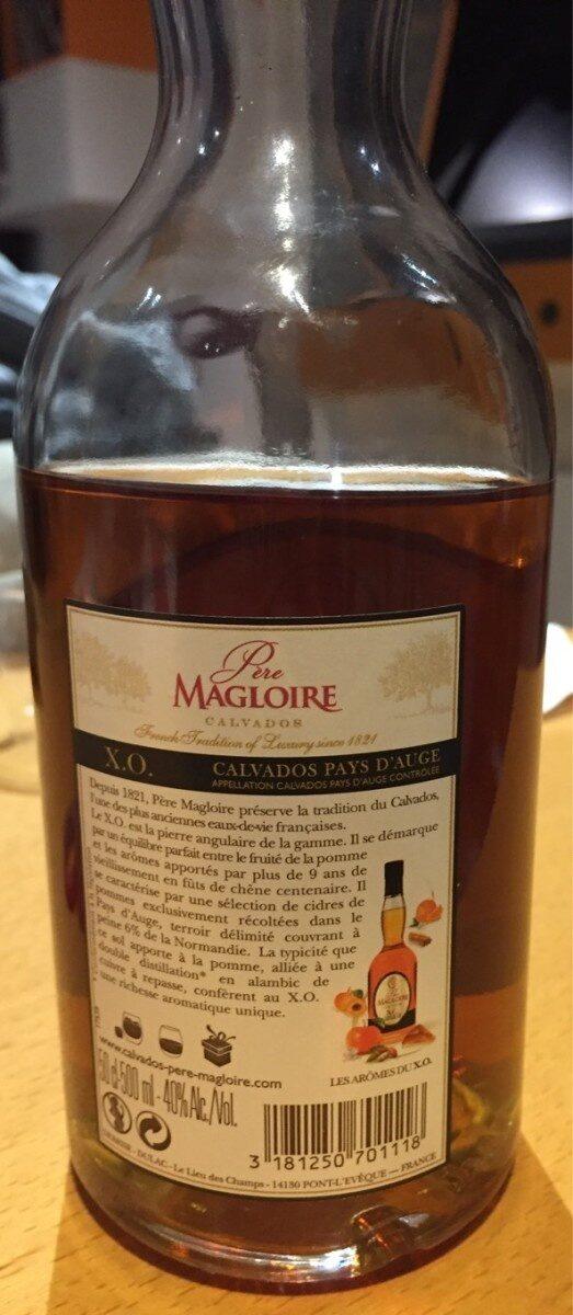 Pere Magloire Calvados Xo - Produit - fr