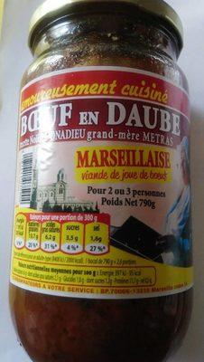 Bœuf en daube - Produit - fr