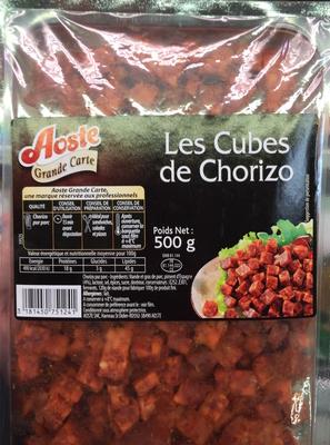 Les Cubes de Chorizo - Produit - fr