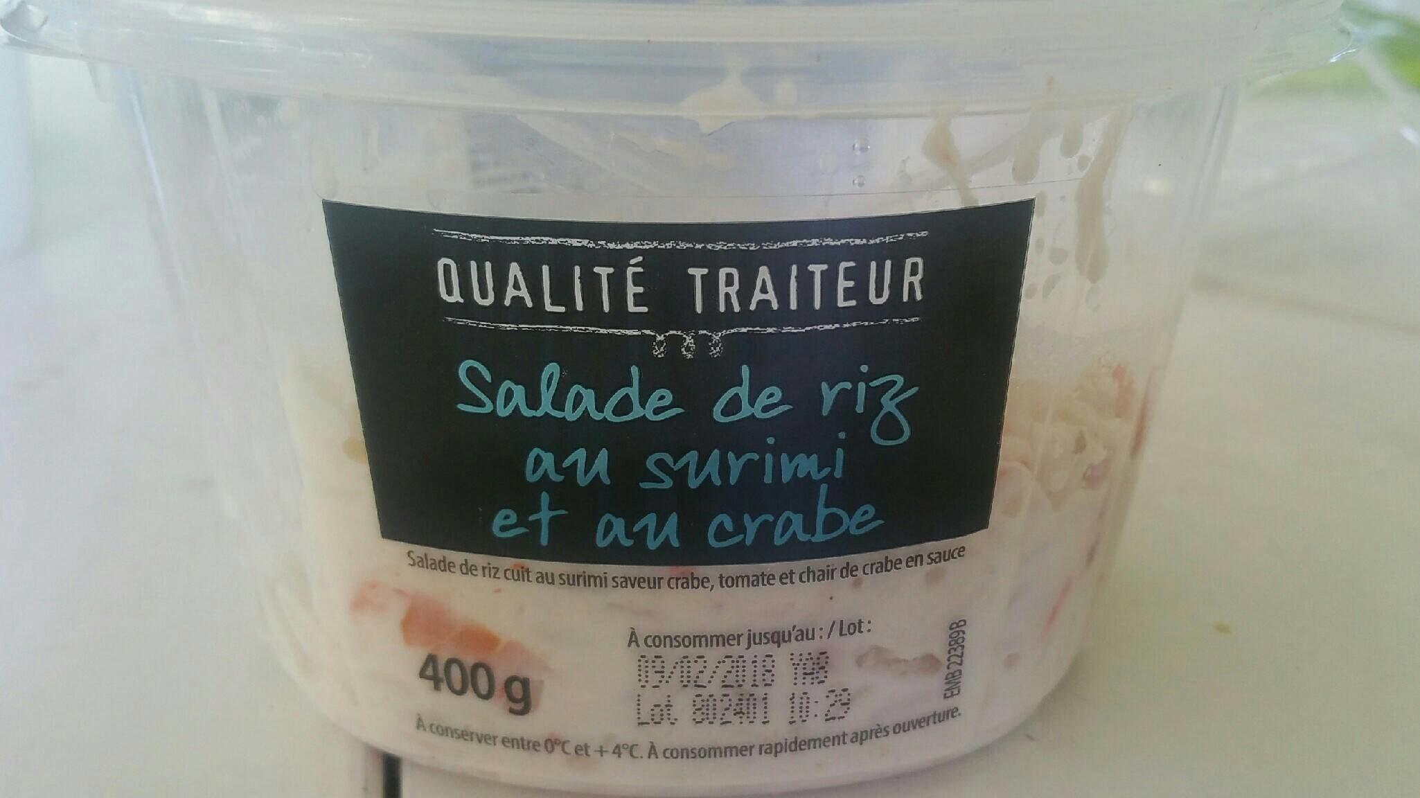 Riz Au Crabe, La Barquette De - Product