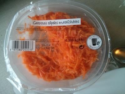 Carottes râpées maraîchères - Product