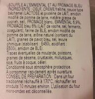110GX2 SOUFFLE AU BLEU STALAVEN - Ingrédients