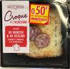 Croque à l'Alsacienne cuisiné au Munster & au Riesling - Product