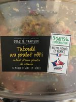 Taboulé au poulet roti - Produit - fr