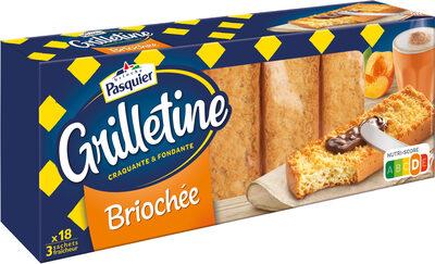 Grilletine Briochée x18 - Produit - fr