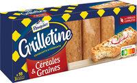 Grilletine Céréales et Graines x18 - Product - fr