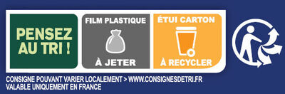 Grilletine Céréales et Graines x18 - Recycling instructions and/or packaging information - fr