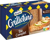 Grilletine Blé Complet x12 - Product - fr