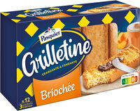 Grilletine Briochée x12 - Product - fr