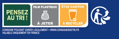 Grilletine Briochée x12 - Recycling instructions and/or packaging information - fr