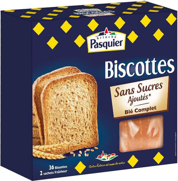 Biscottes SSA Blé complet - Produit - fr