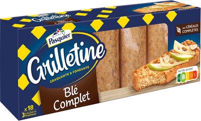 Grilletine Blé Complet x18 - Producto - fr