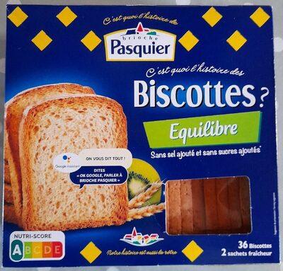 Biscottes Equilibre - Produkt - fr