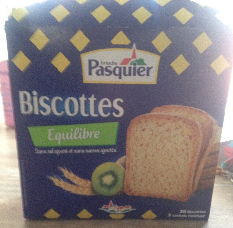 La Biscotte Equilibre (36 biscottes) - Product