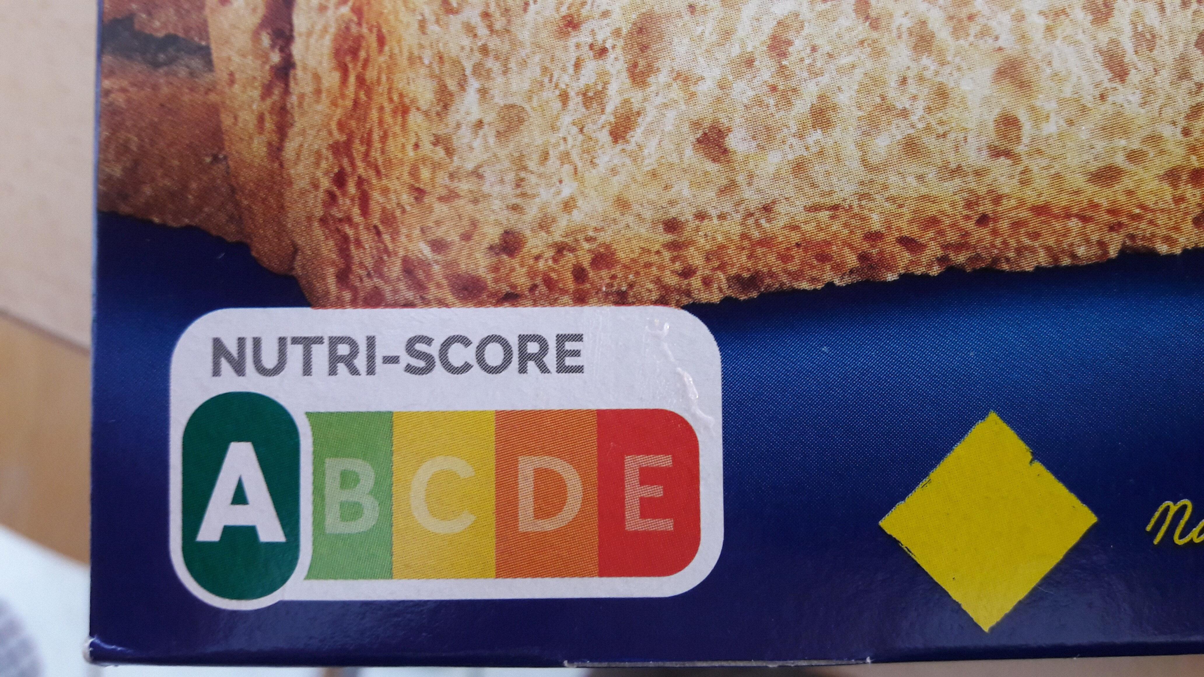 Biscottes - Información nutricional - fr