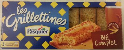 Les Grillettines (Blé Complet) - Product - fr